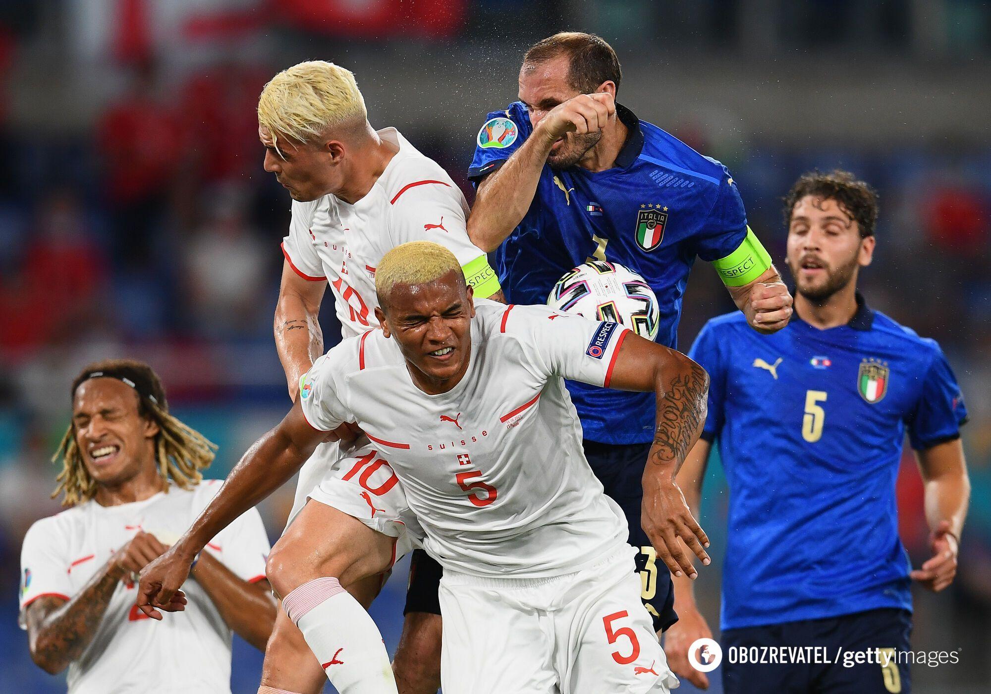 Италия атаковала
