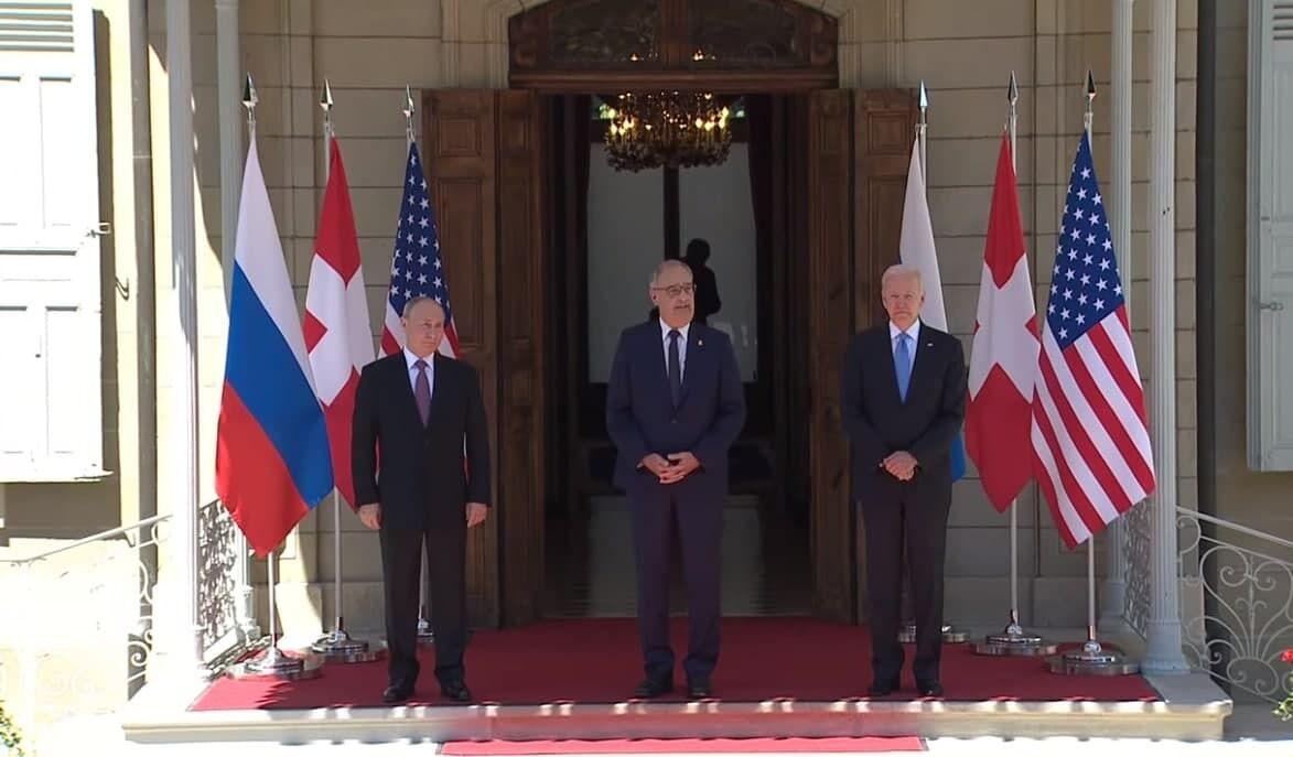 Лидеры России, США и Швейцарии.