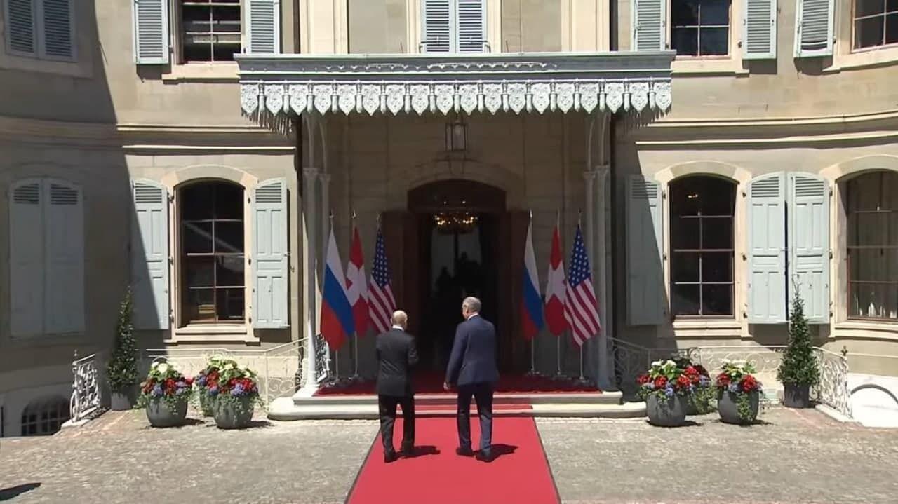Путин и Ги Пармелен.