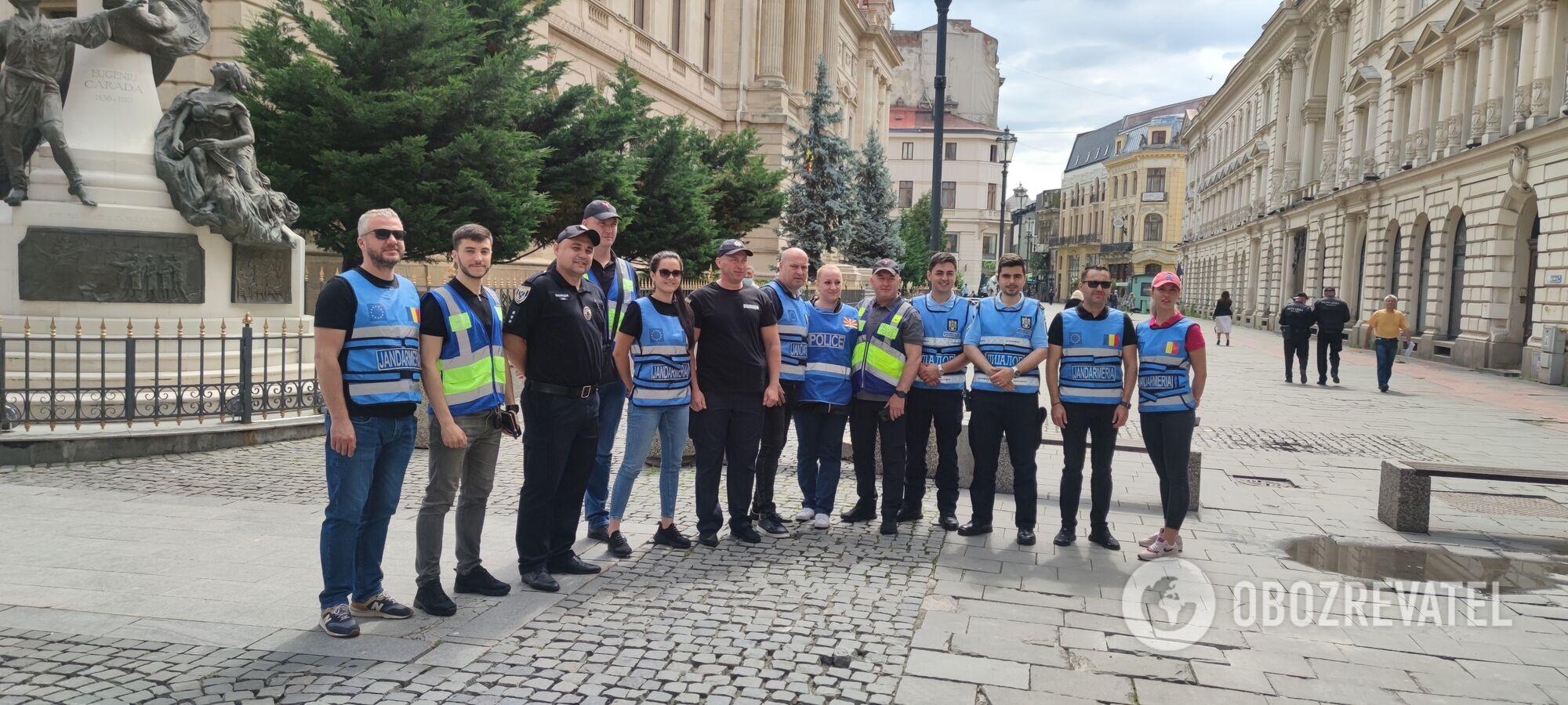 Українські поліцейські допомагають своїм іноземним колегам