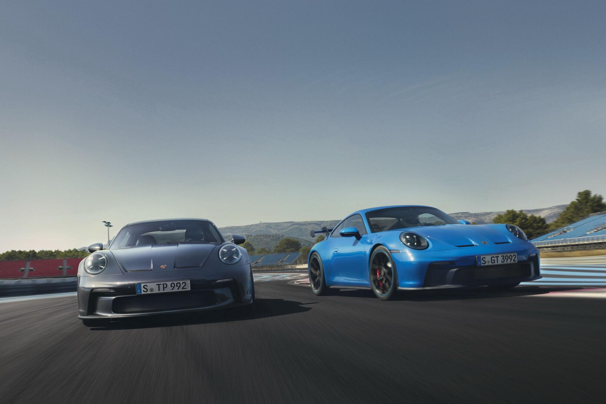 В семье 911 GT3 – очередное пополнение