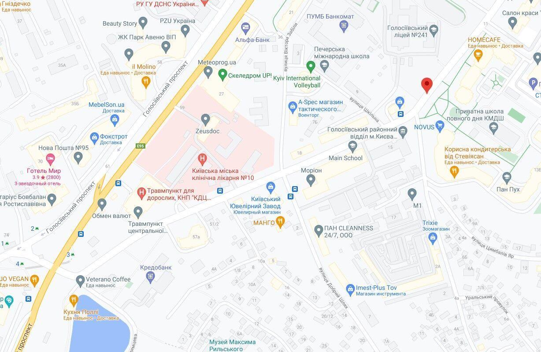 Инцидент произошел в Голосеевском районе.