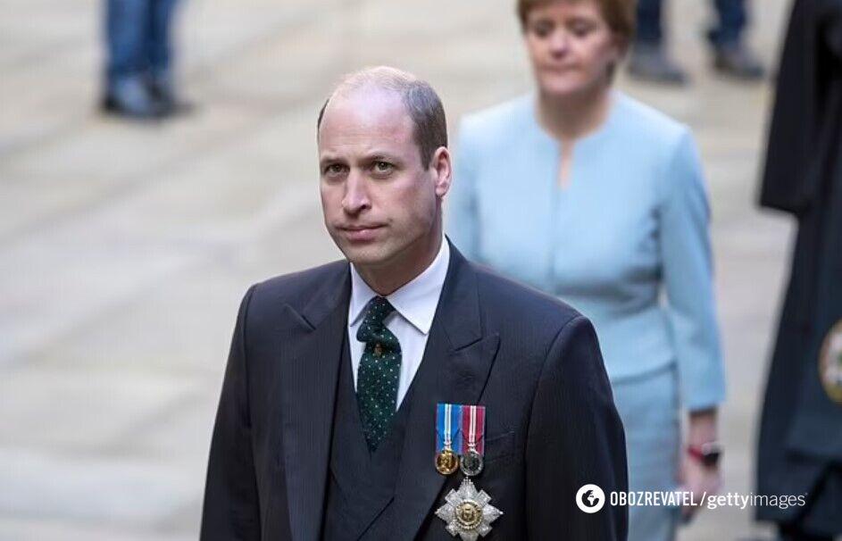 Как выглядит принц Уильям.