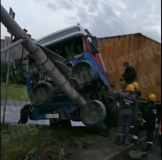 Водитель авто практически не пострадал