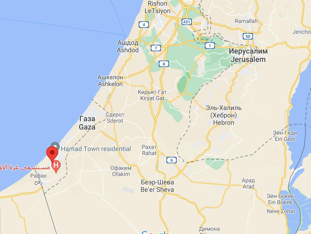 Израиль атаковал города Хан-Юнис и Газа.