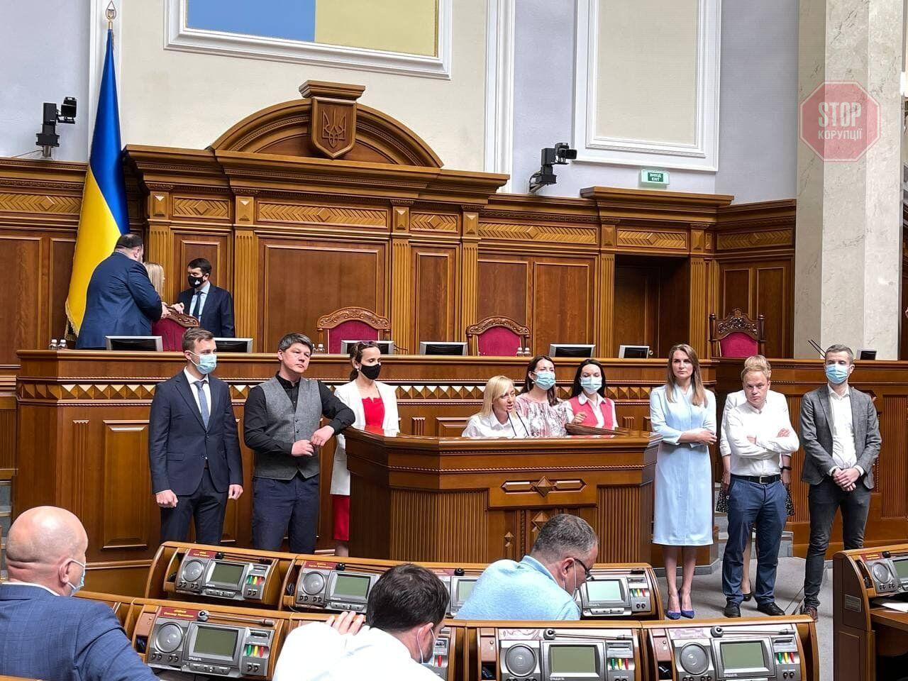 """Депутаты фракции """"Голос"""" выразили недоверие руководству"""