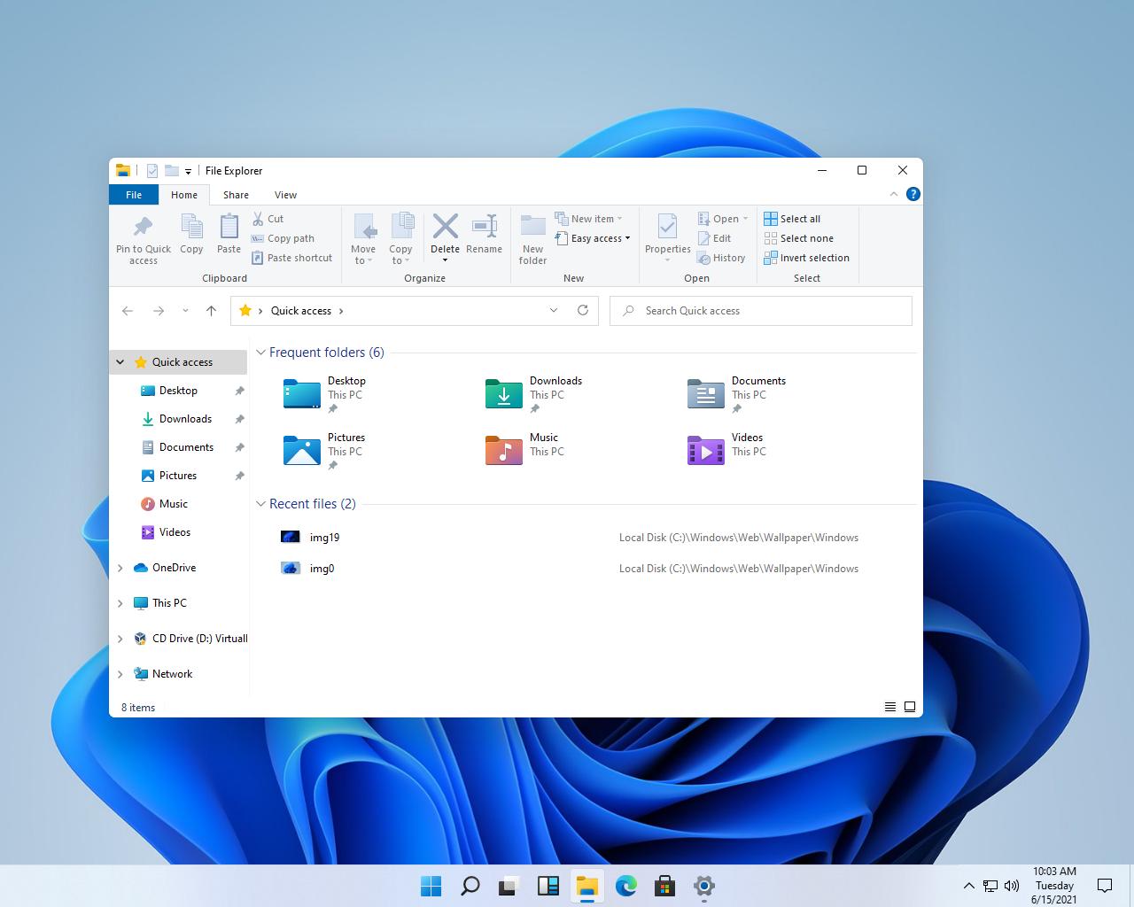 В Windows 11 переработан проводник и многое другое