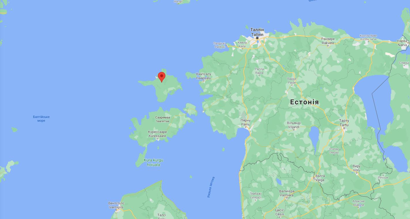 Остров Хийумаа