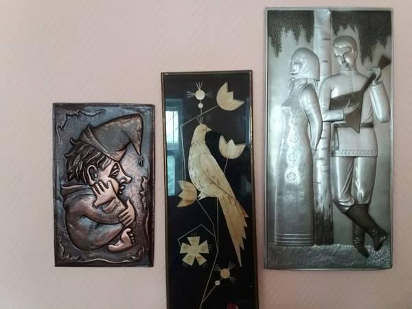 Металеві картини-карбованки були в кожному будинку СРСР