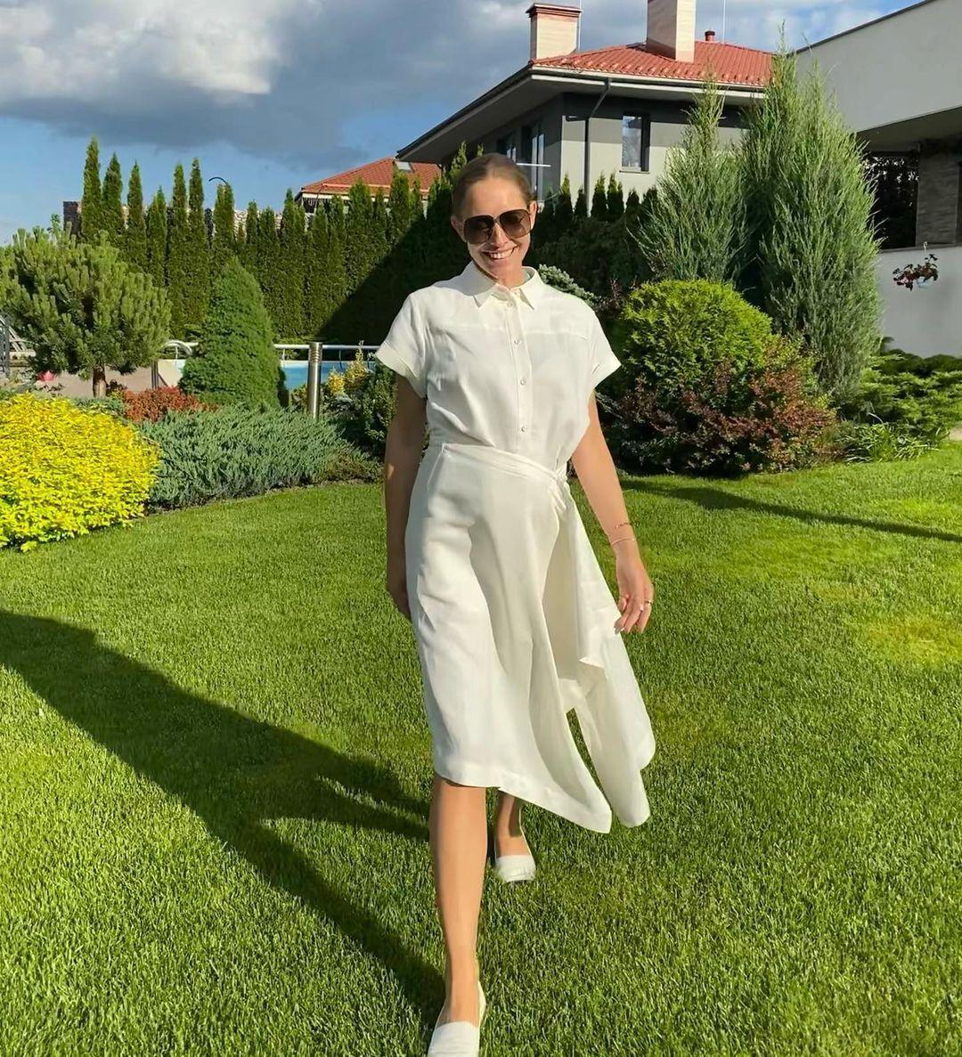 Катерина Осадча показала стильний образ