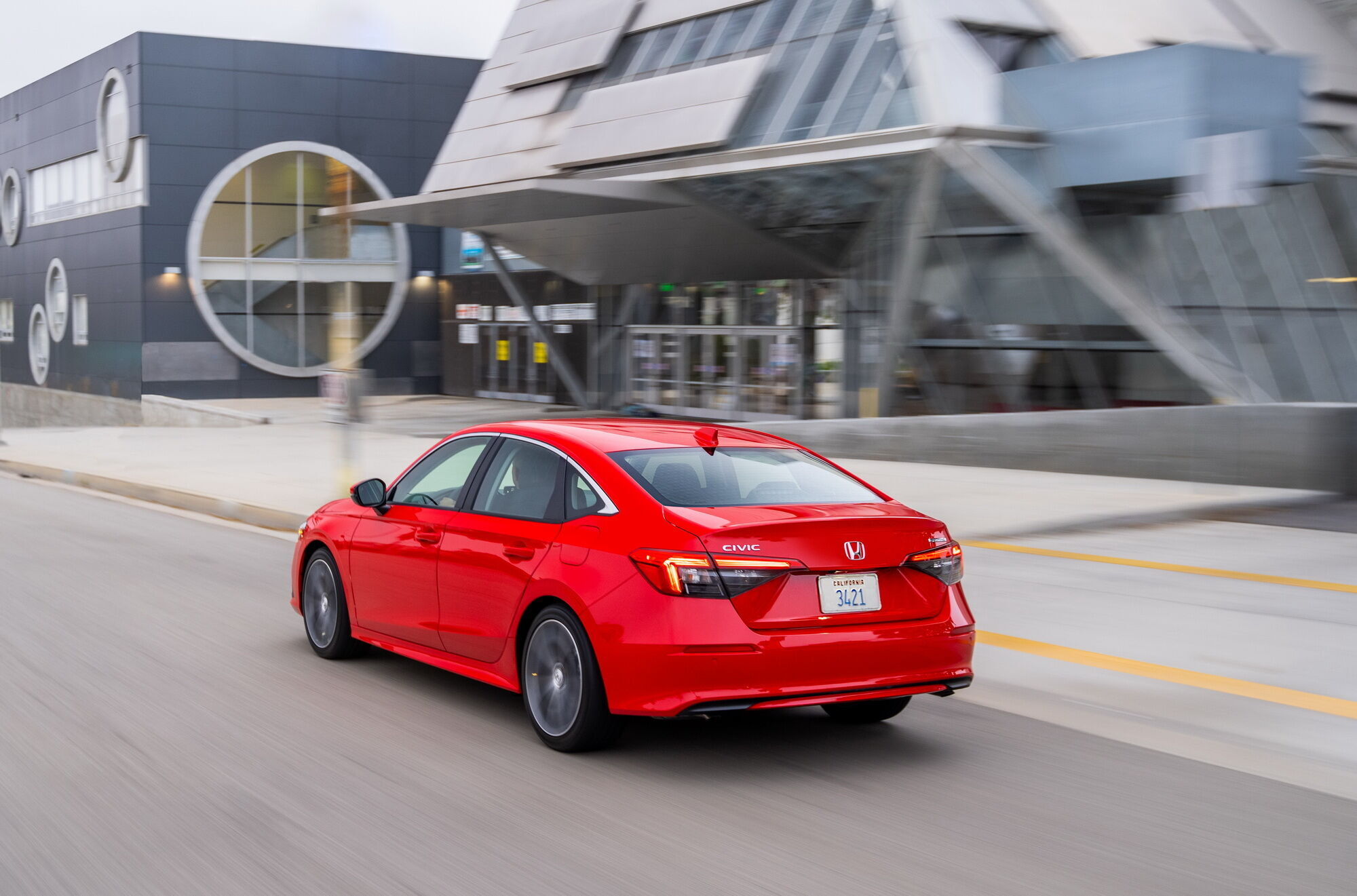 Вартість нового седана Honda Civic стартує в США з позначки $ 22695