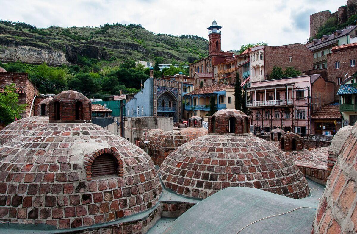 Абанотубани – древнейший район Тбилиси.