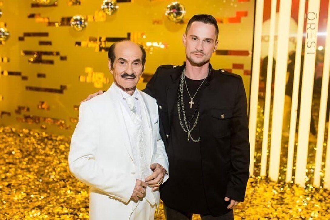 Грег Чапкис с отцом
