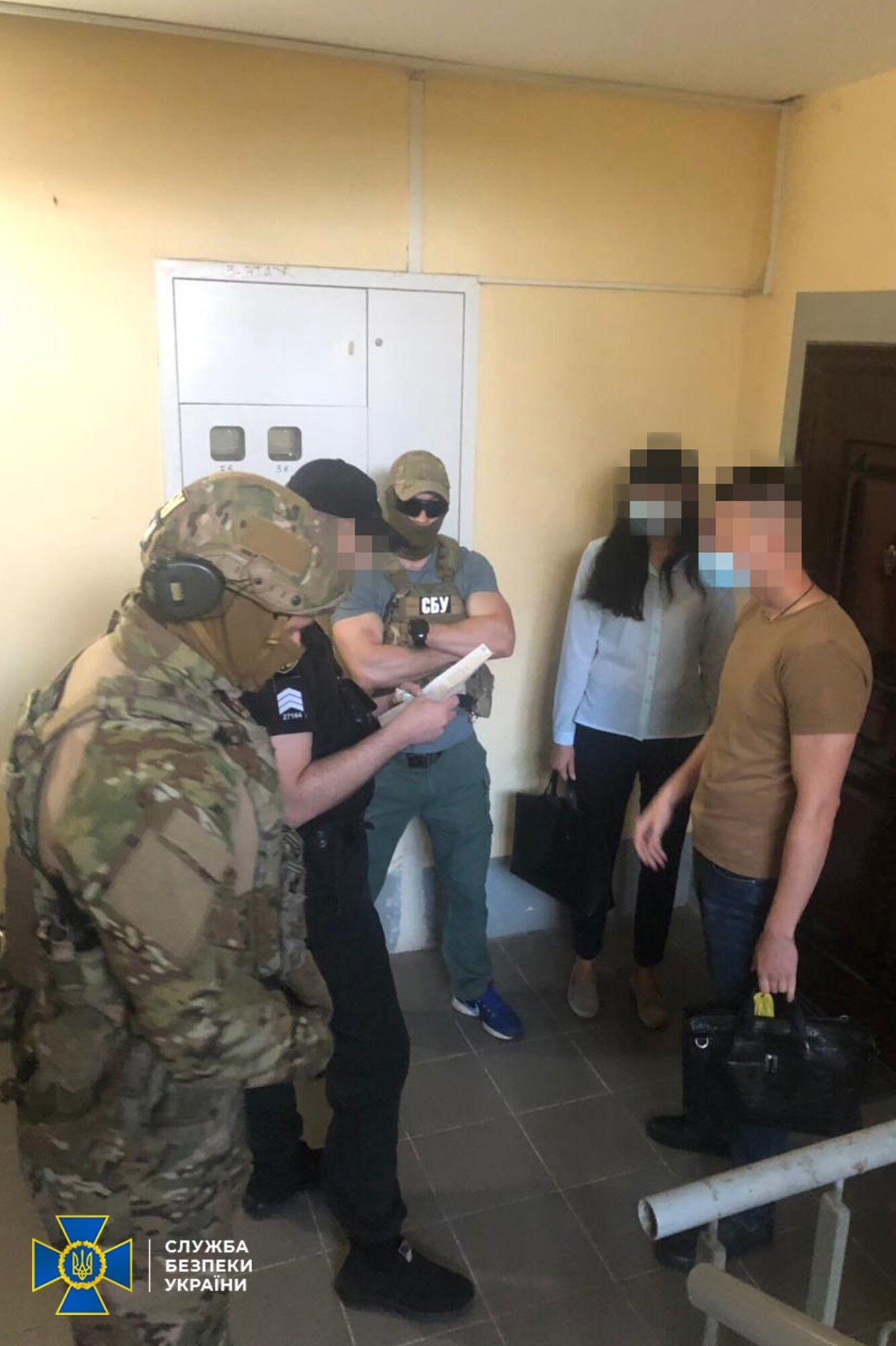 "Задержание экс-боевика ""ЛНР"""