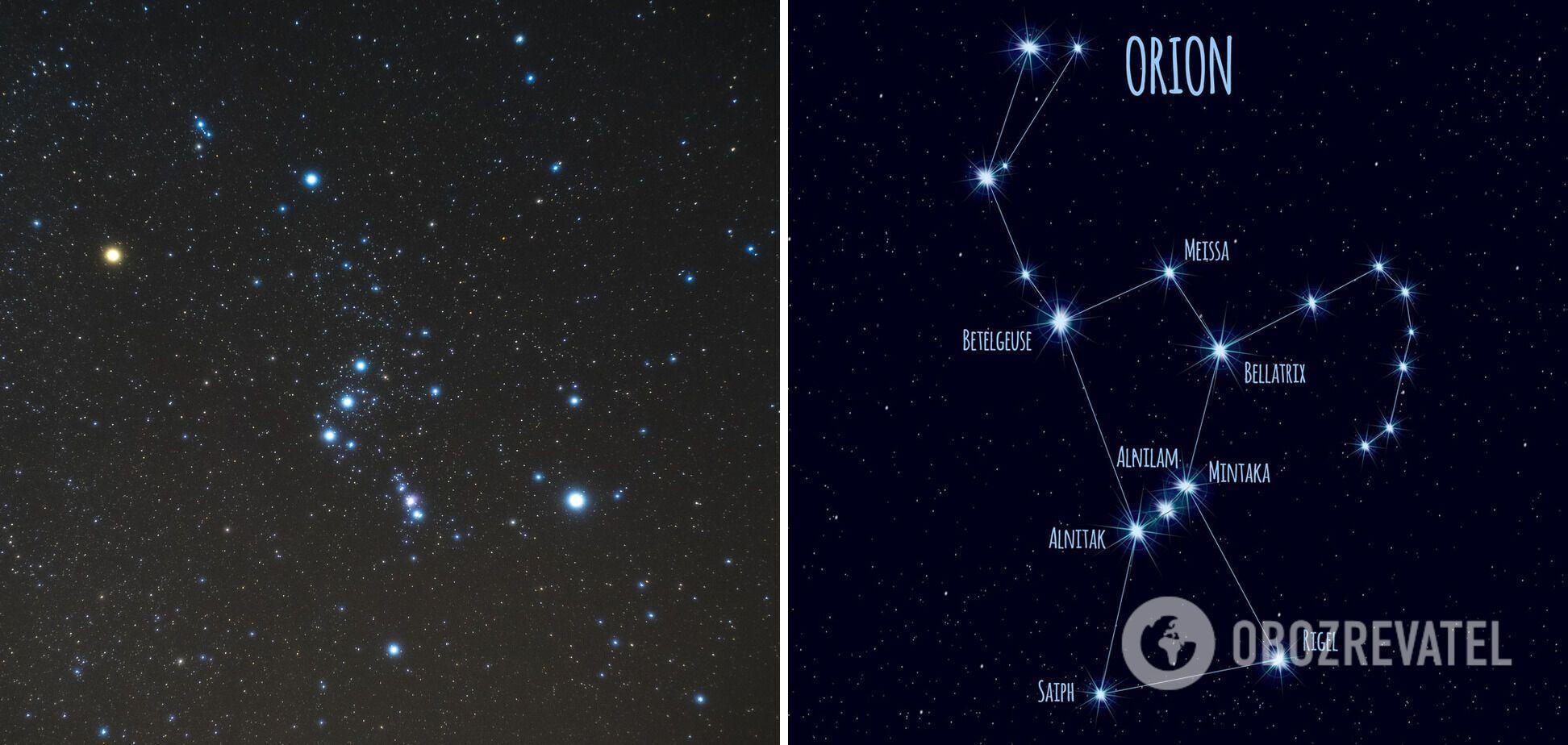 Бетельгейзе – вторая по яркости звезда в созвездии Ориона