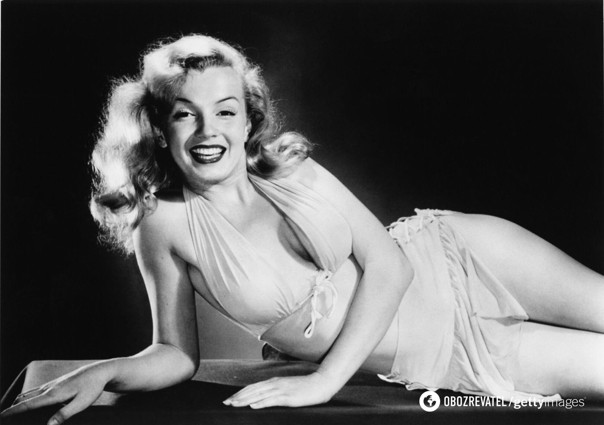 Як виглядала знаменита актриса Монро