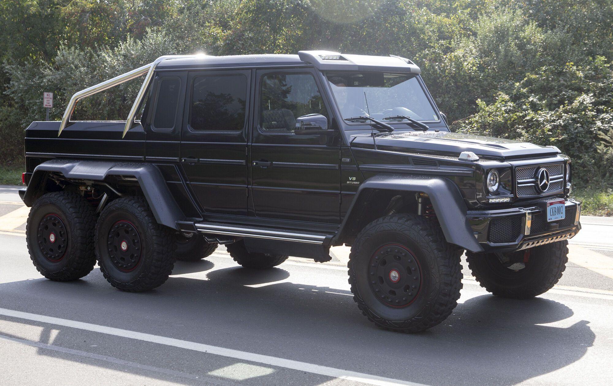 Mercedes-Benz G63 AMG 6x6 за 615 000 долларов