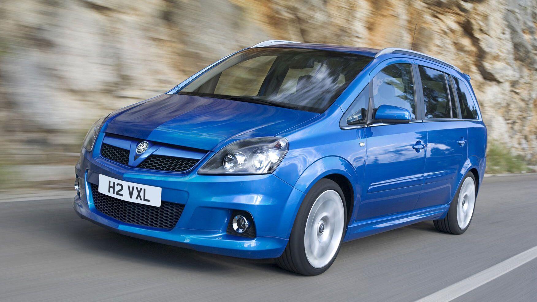 Opel Zafira оснащена двигуном VXR