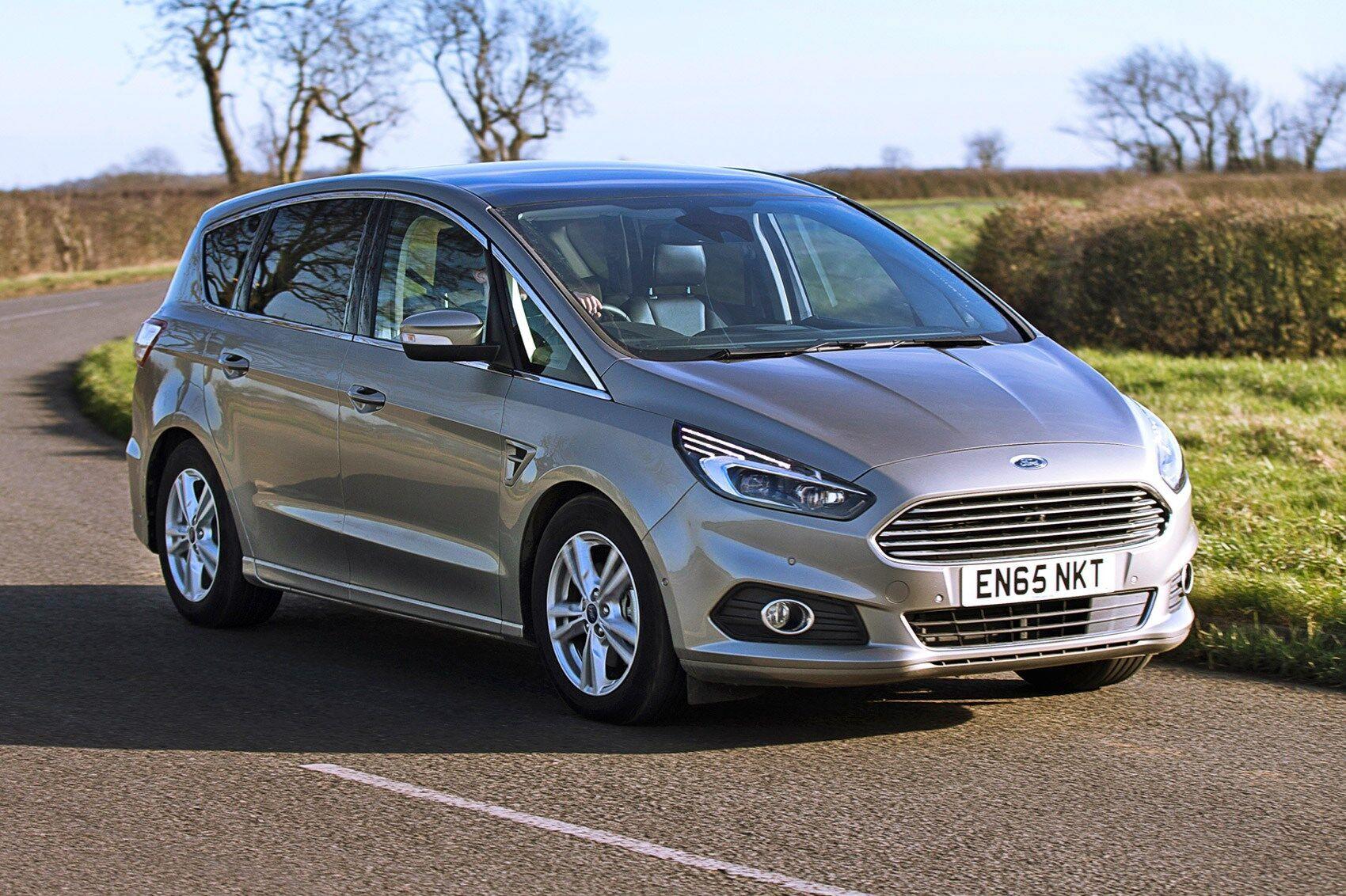 Ford S-Max 2.0 Ecoboost розганяється до 96 км/год за 7,1 секунди