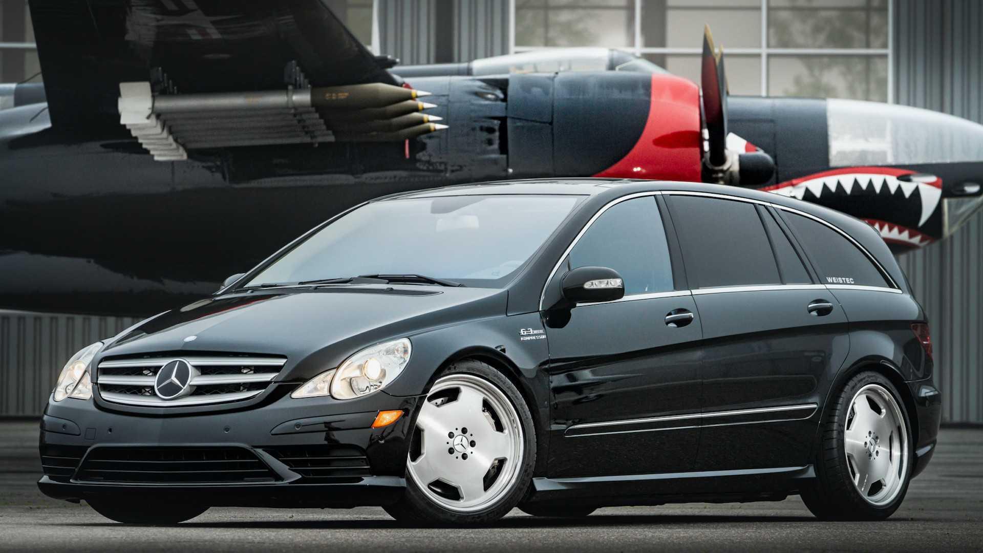 Mercedes R63 AMG розганяється до 96 км/год за 4,6 секунди