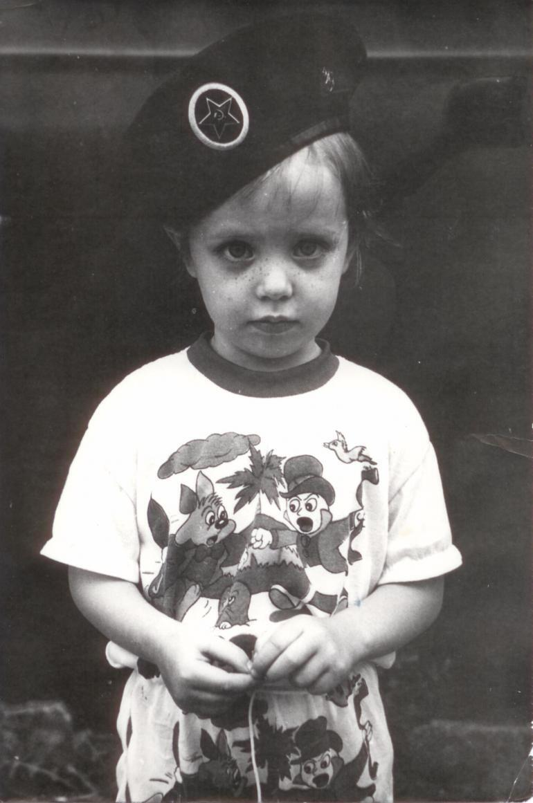 Дорофеева в детстве