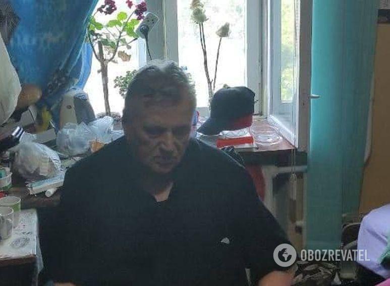 Віталій Філіпов під час затримання в м. Южне Одеської області