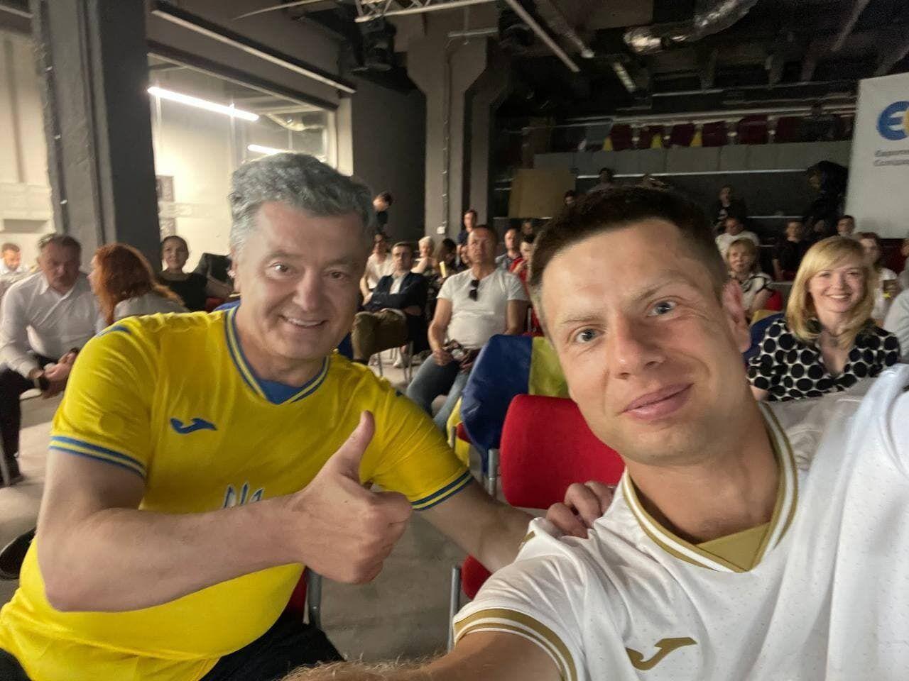 Порошенко та Гончаренко