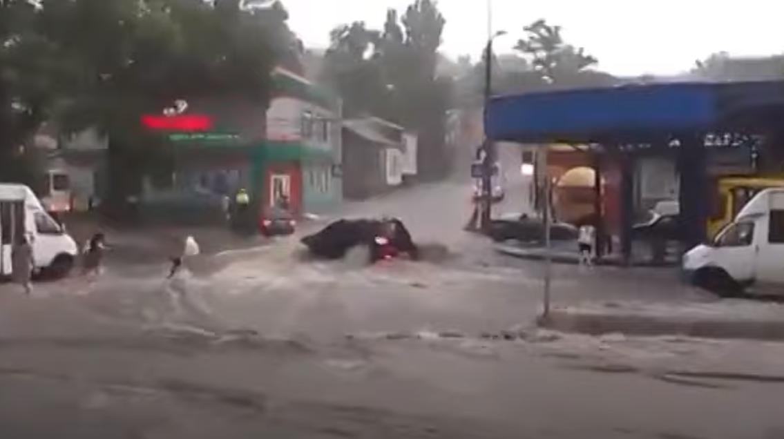 Потоп у Донецьку.