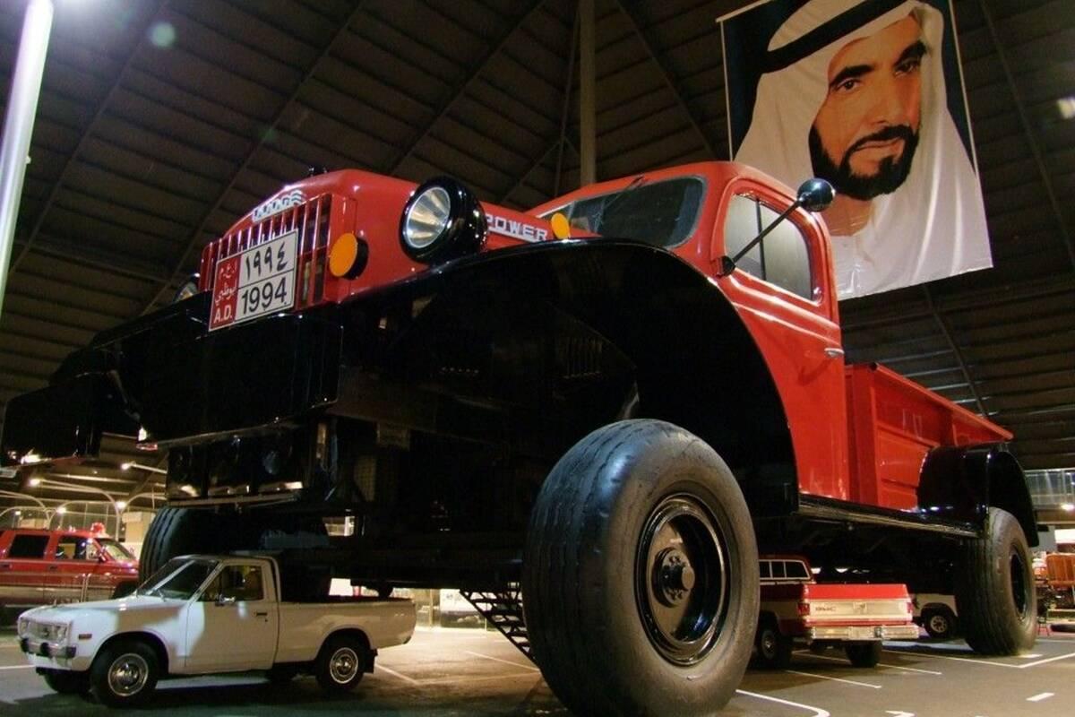 Dodge Power Wagon шейха Хамад Бин Хамдан Аль Нахайяна