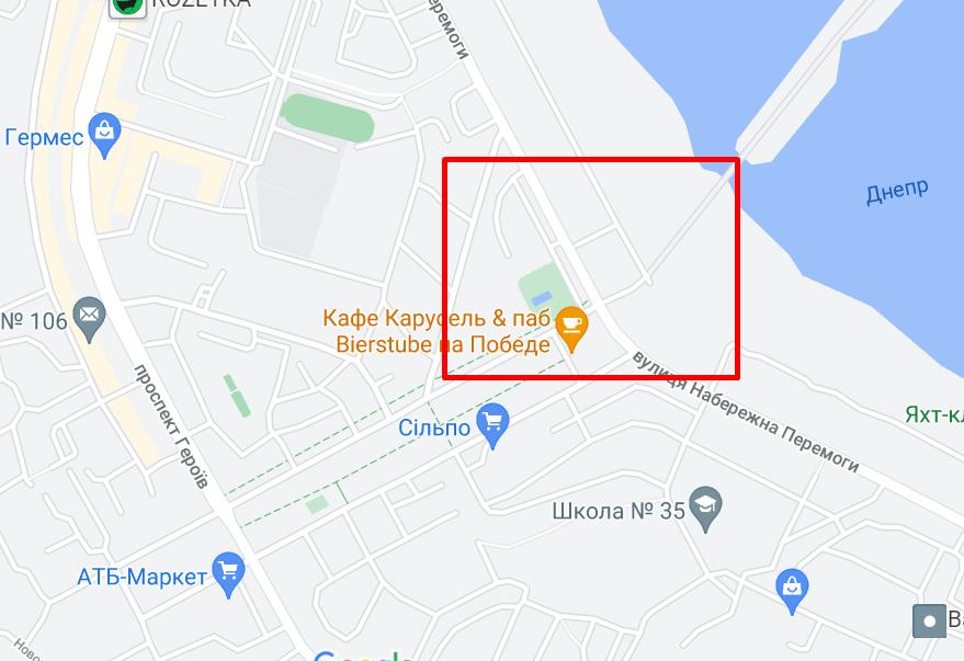 Аварія сталася поряд з бульваром Слави.