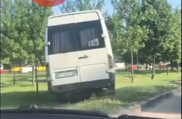 Водитель нарушил ПДД.