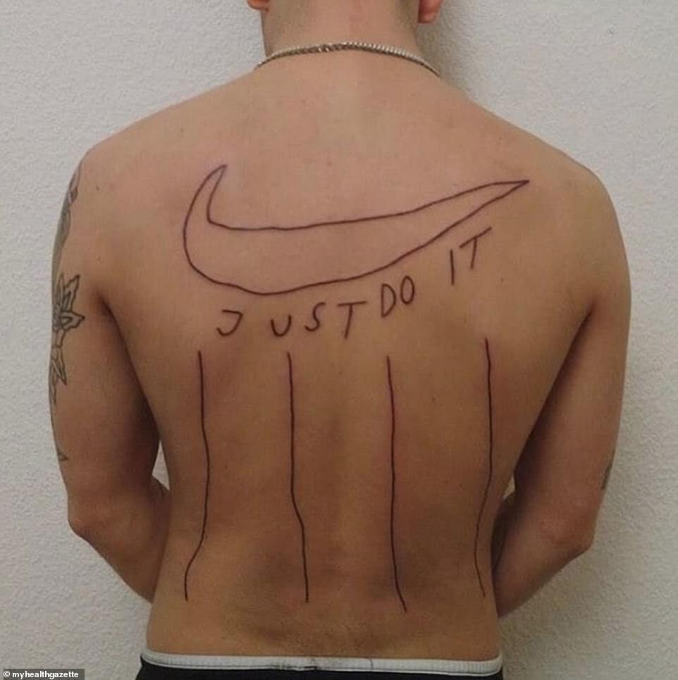 Чоловік став фанатом Nike