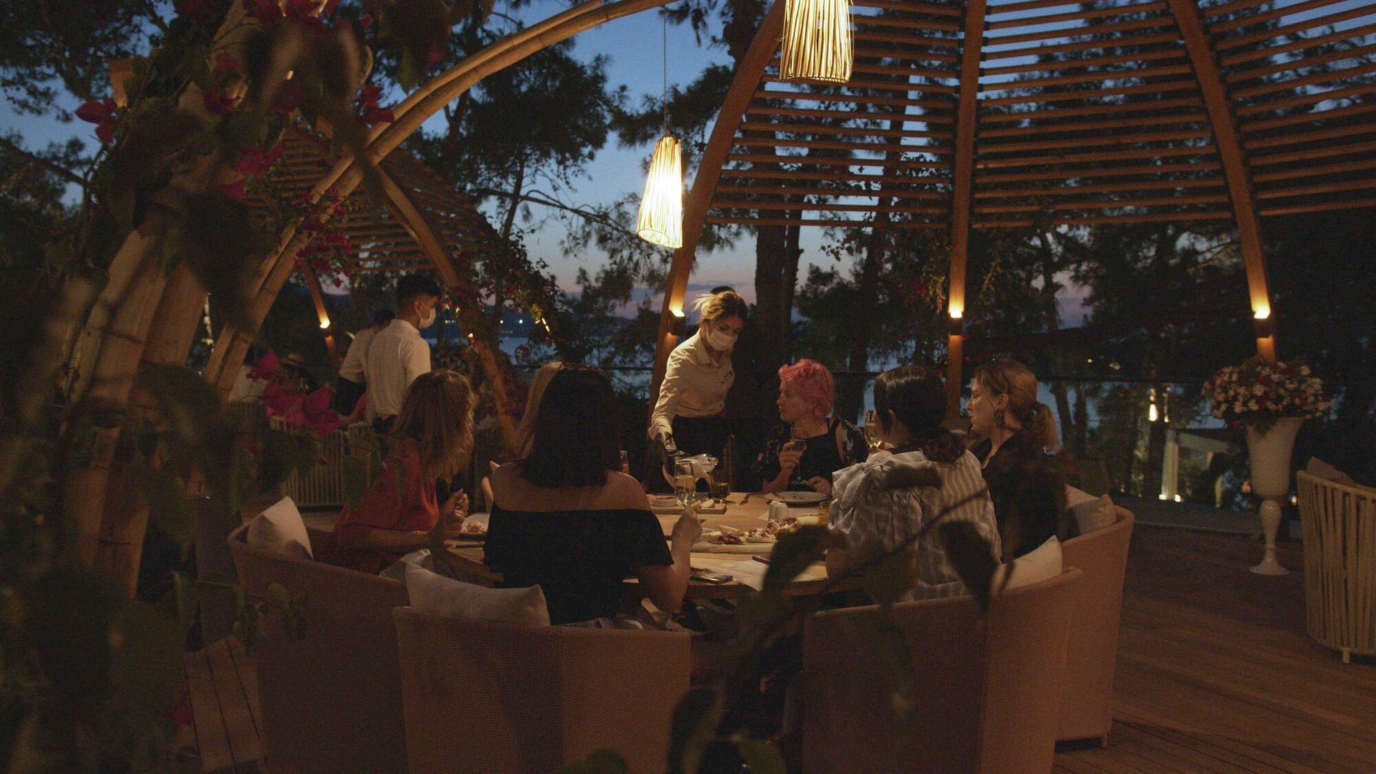 Ужин в Rixos Premium Bodrum.