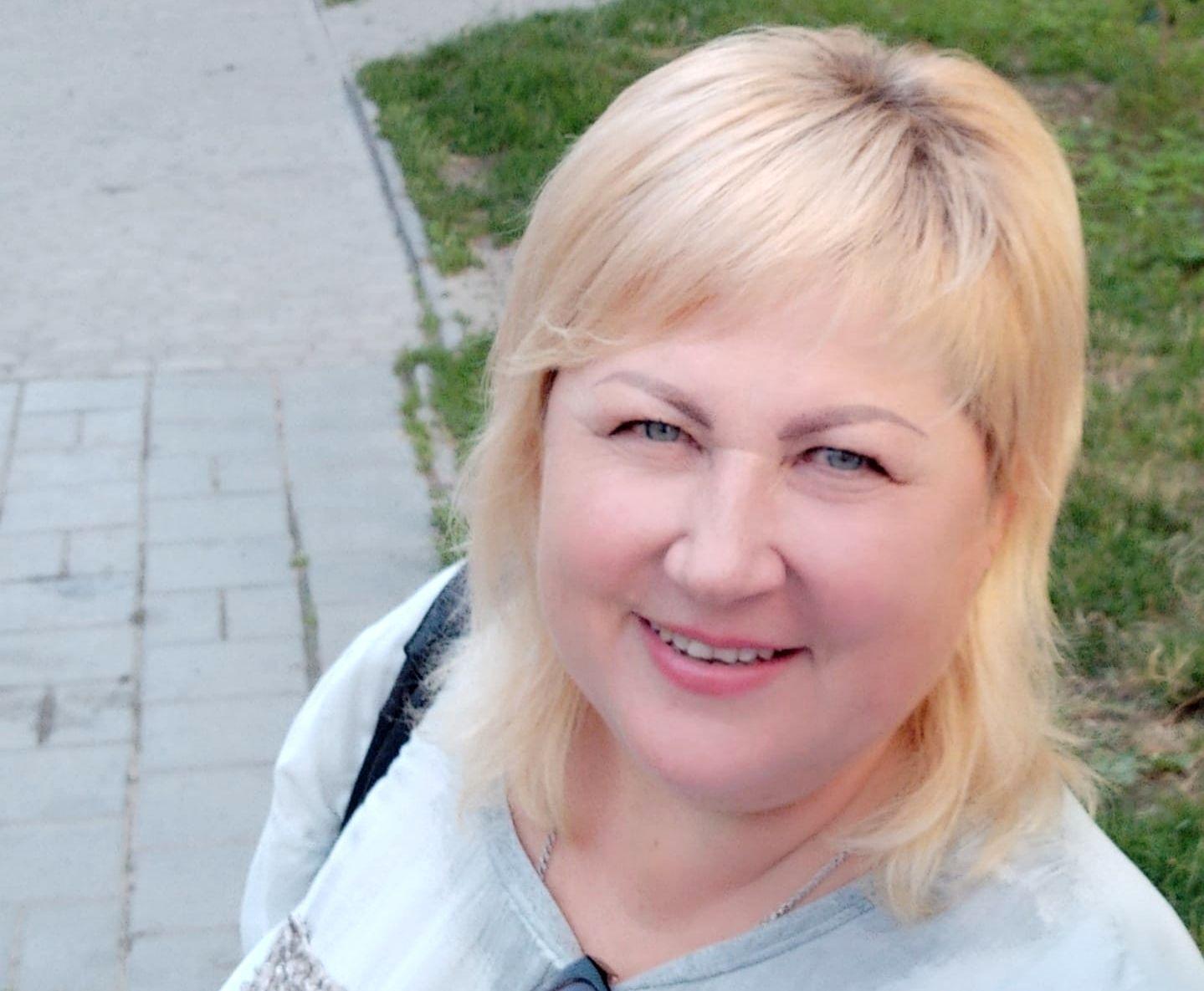 Директорка школи Інна Гайдай.