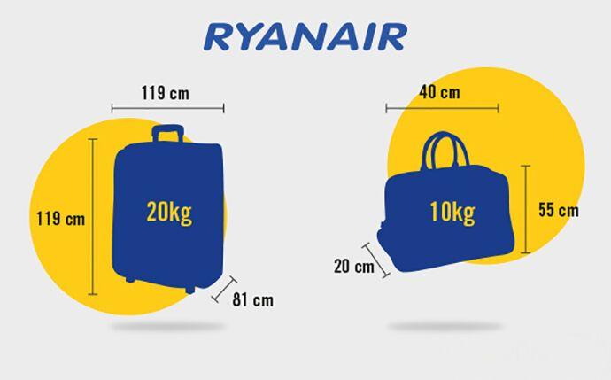 Брати свої речі в салон пасажирам Ryanair можна тільки тим, у кого є право пріоритетної посадки