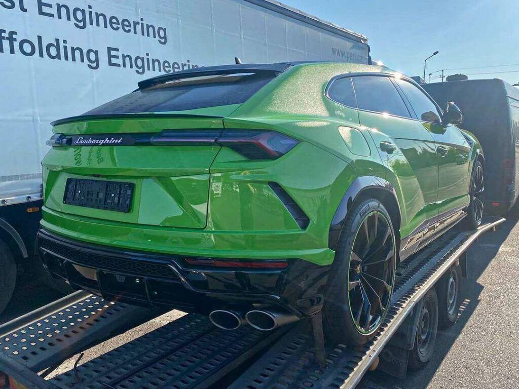 Lamborghini Urus Pearl Capsule, який привезли в Одесу