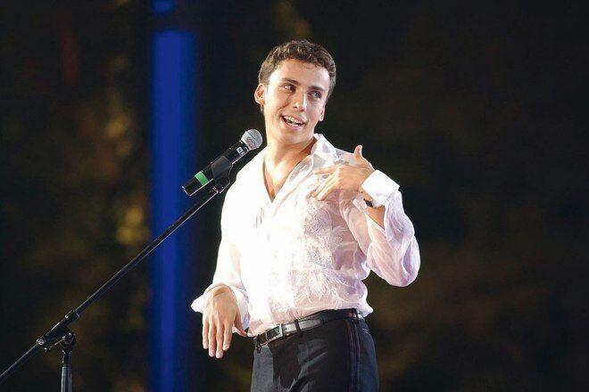 Максим Галкін на сцені