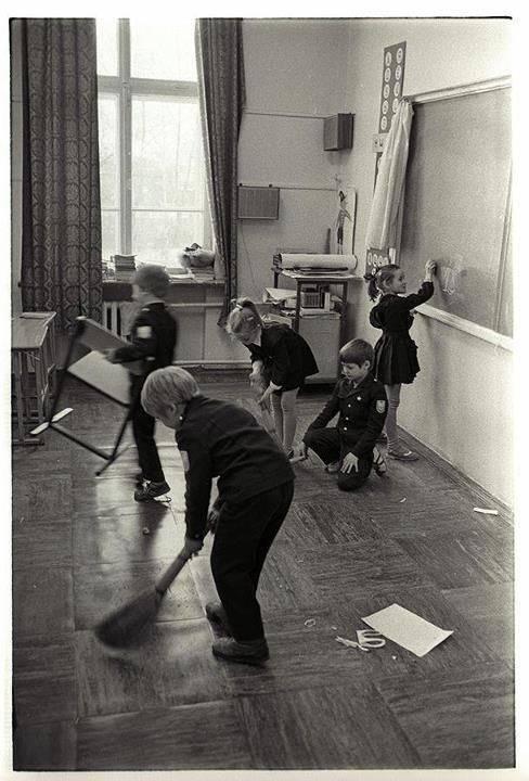 Дети обожали дежурить в классе в СССР.