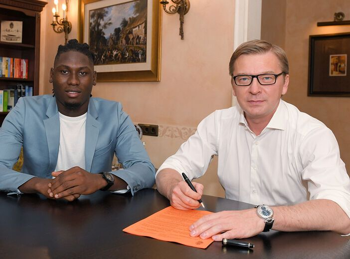 Траоре підписав п'ятирічний контракт.