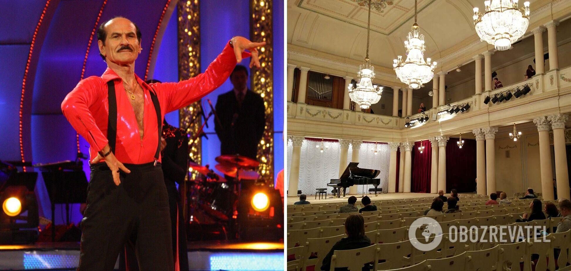 Прощание с Чапкисом пройдет в Национальной Филармонии Украины