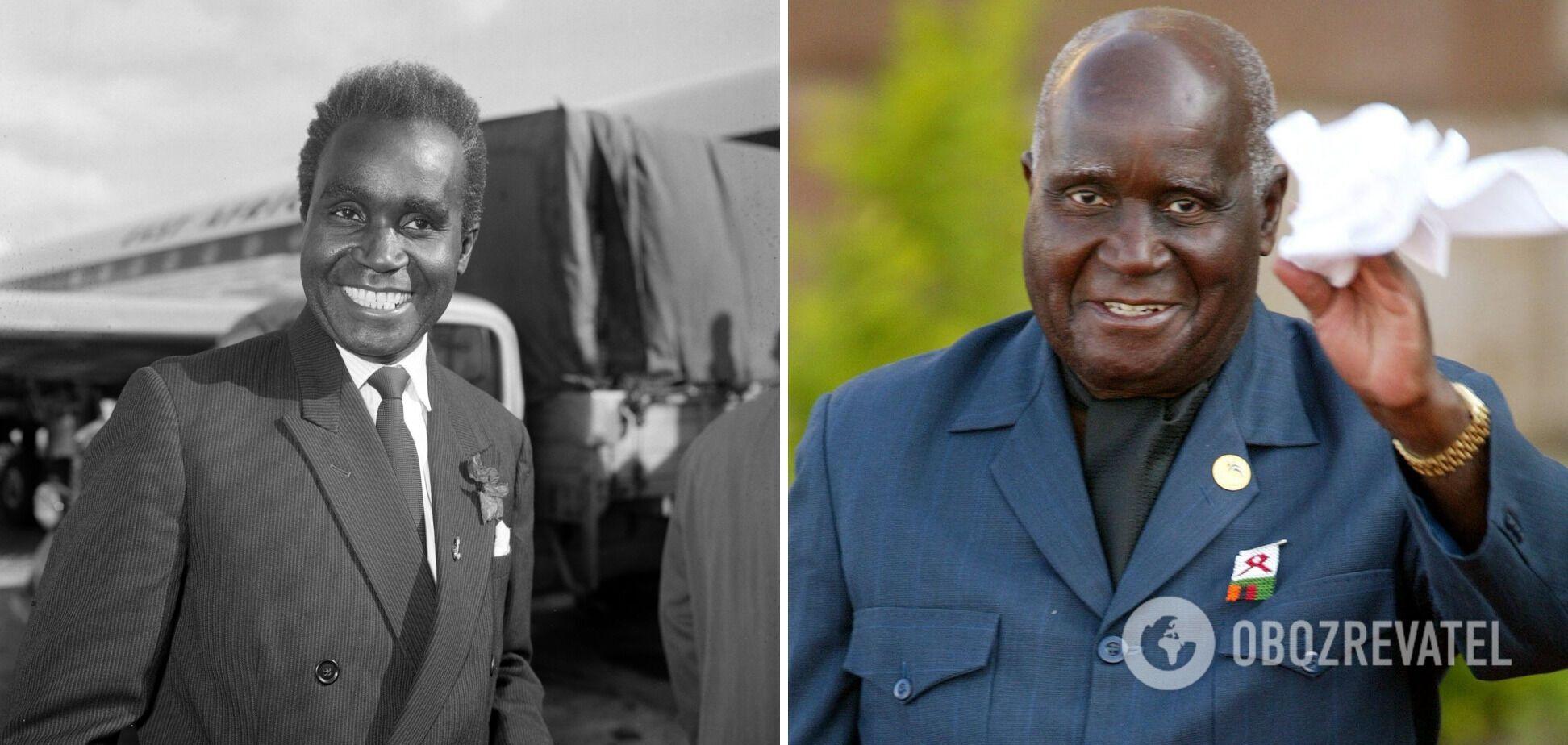 Кеннет Каунда был первым президентом Замбии
