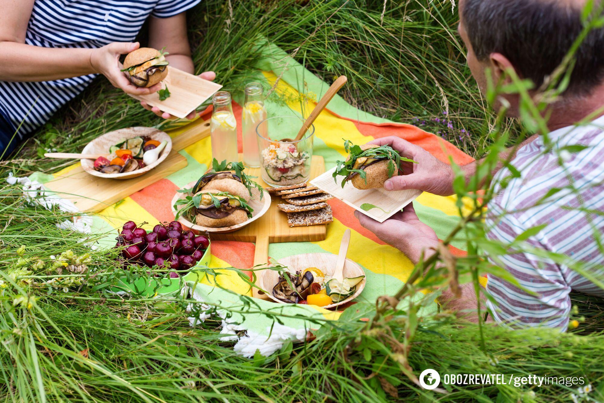 Что лучше всего взять на пикник