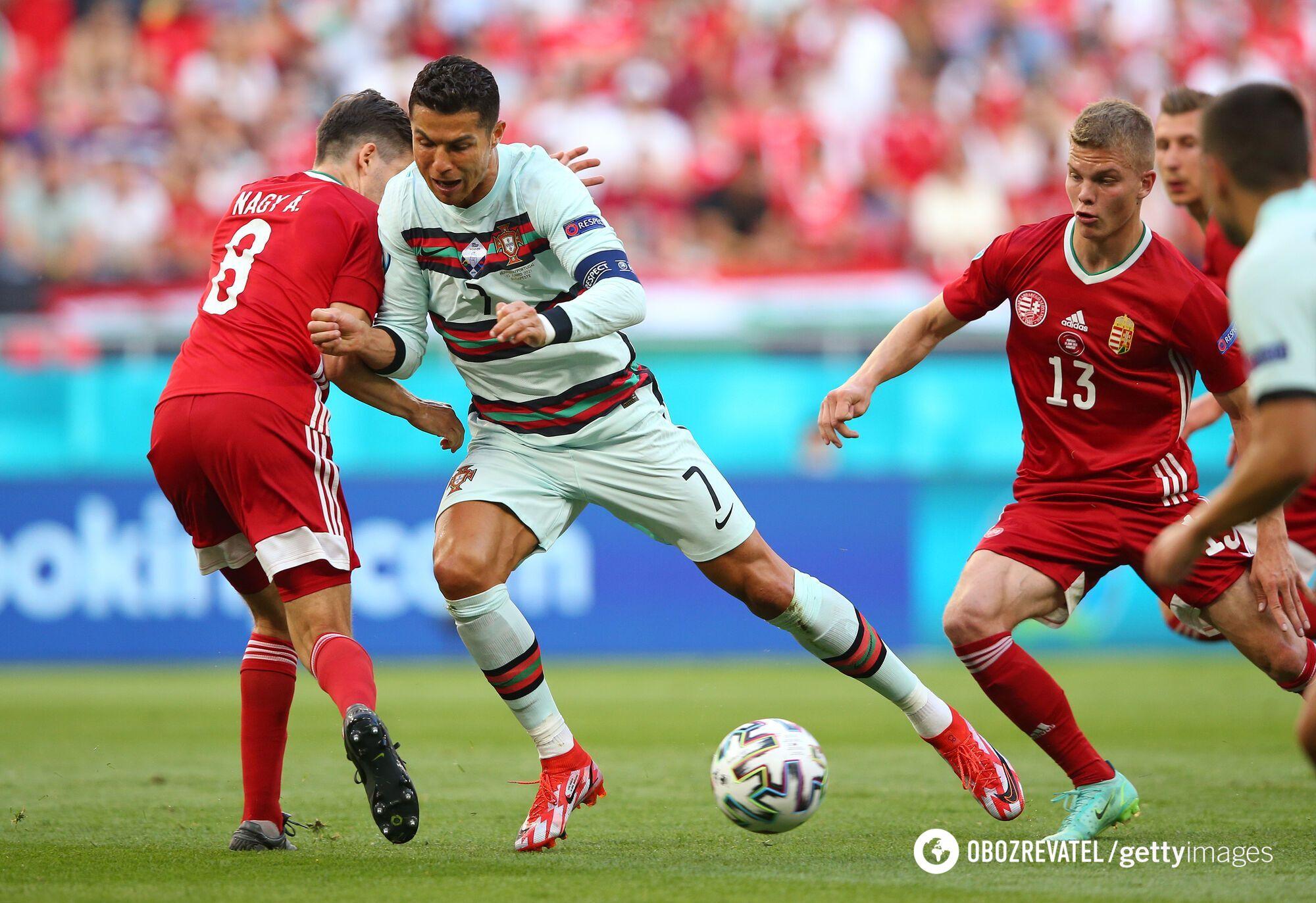 Лідер збірної Португалії Кріштіану Роналду.