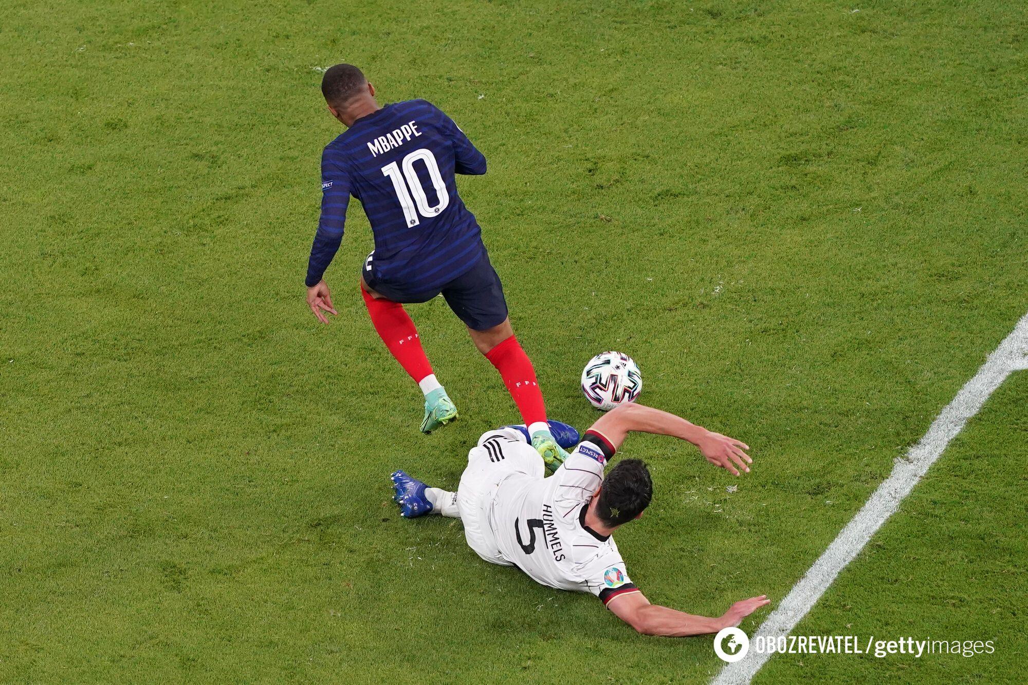 Франция обыграла Германию.