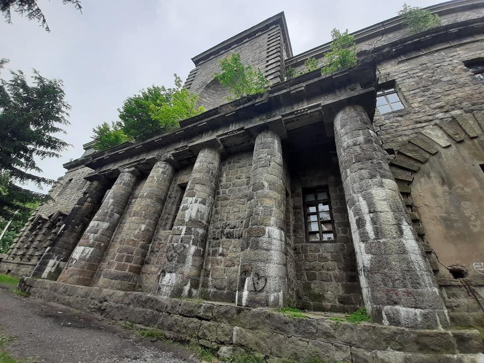 Крепость в Староконстантинове
