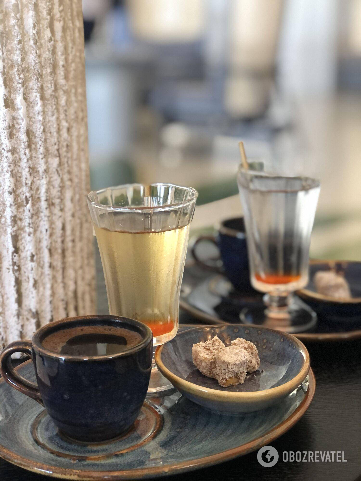 Кофе по-турецки.