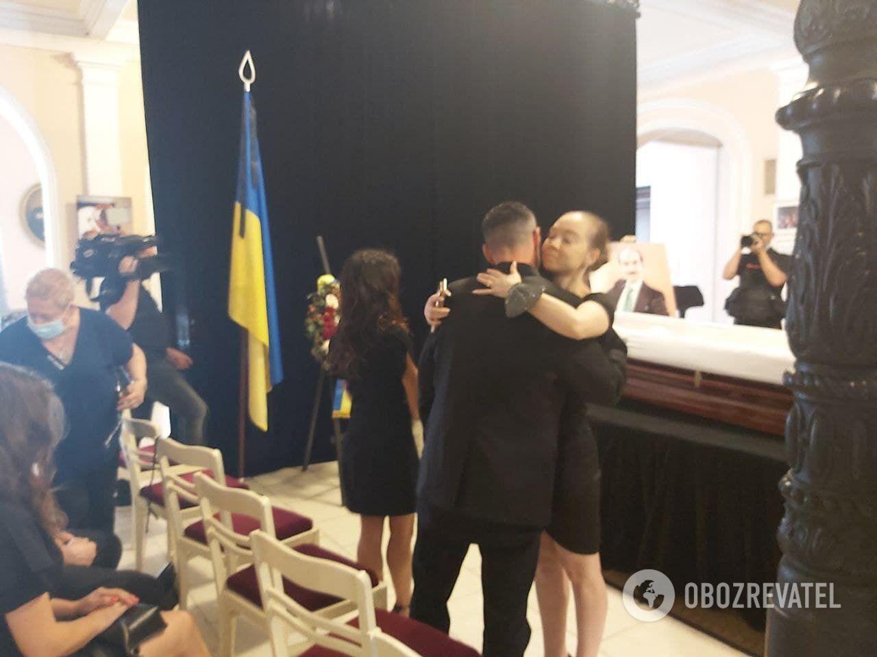 Прощання з Григорієм Чапкісом