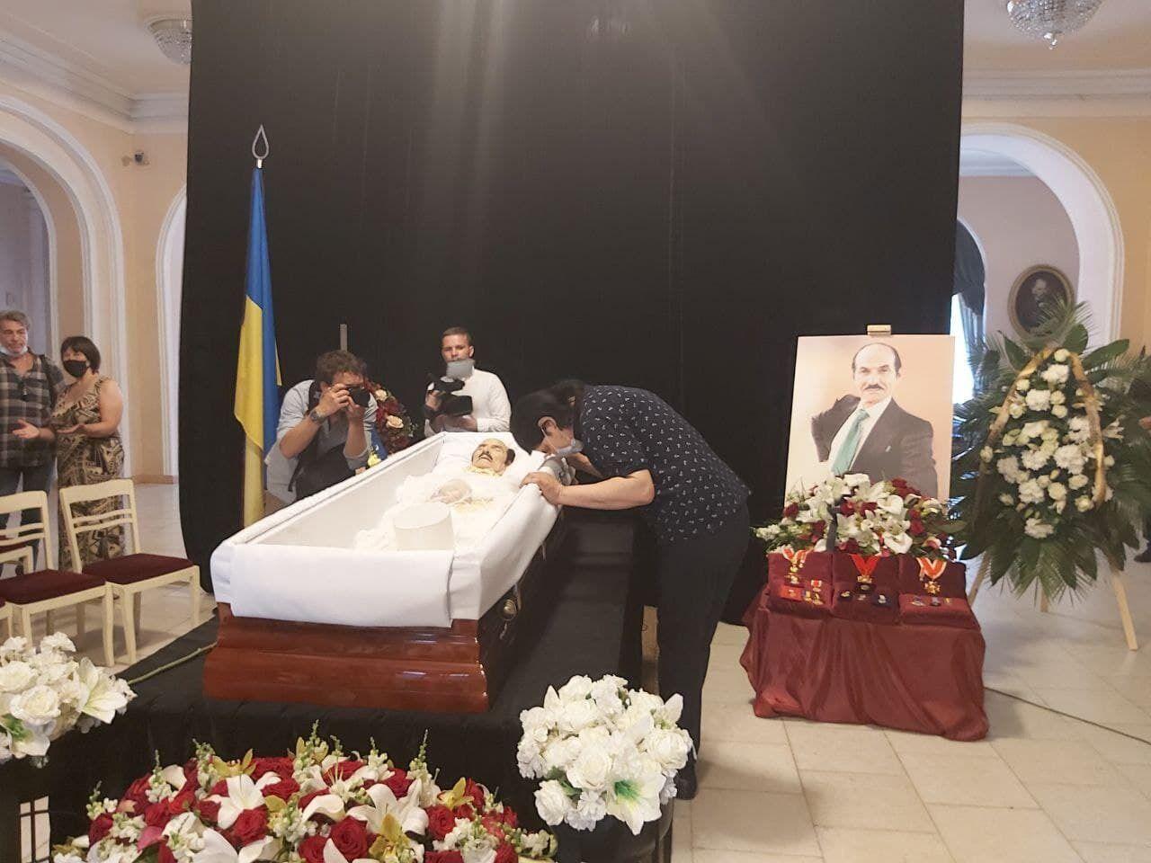 Павло Зібров попрощався з Григорієм Чапкісом