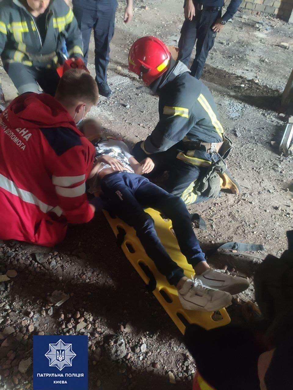 Подростка госпитализировали в больницу.