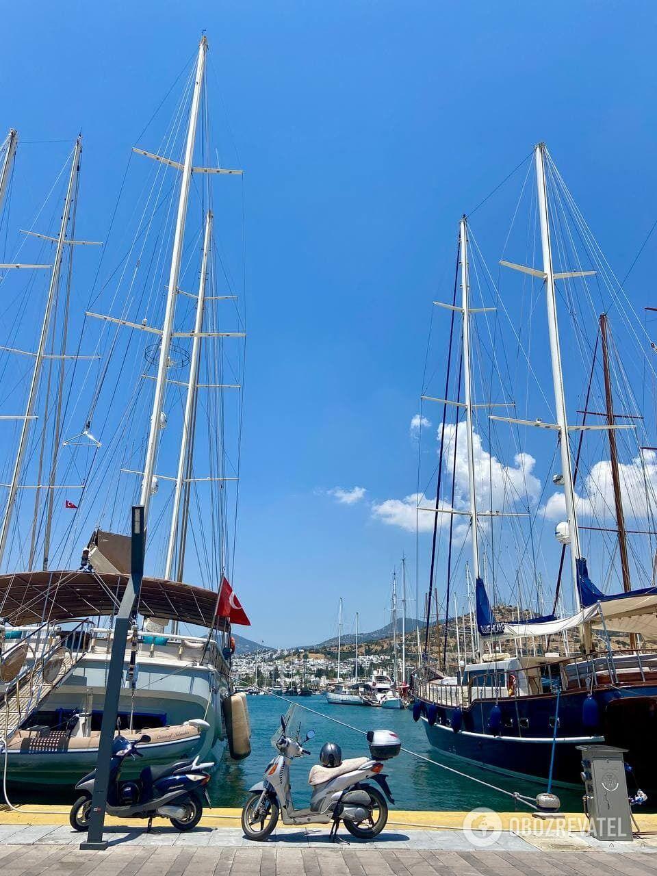 Яхты в Бодруме